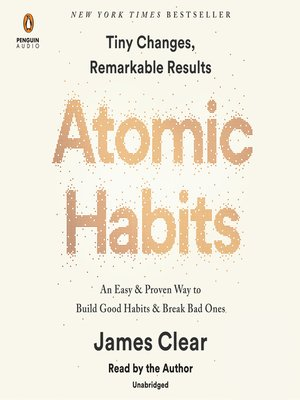 cover image of Atomic Habits
