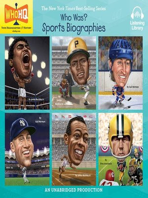 cover image of Who Was, Sports Biographies
