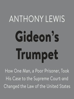 cover image of Gideon's Trumpet