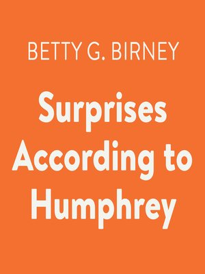 cover image of Surprises According to Humphrey