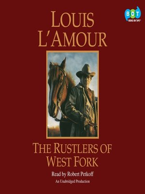 cover image of The Rustlers of West Fork