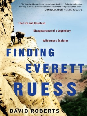 cover image of Finding Everett Ruess