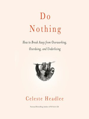 cover image of Do Nothing