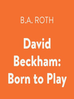cover image of David Beckham