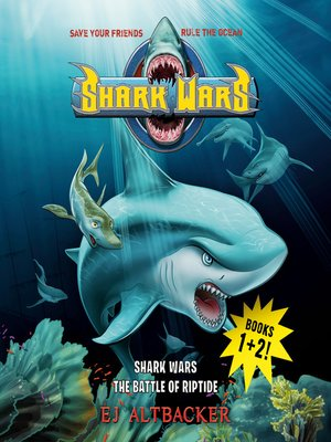 cover image of Shark Wars 1 & 2