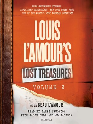 cover image of Louis L'Amour's Lost Treasures, Volume 2
