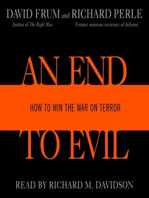 cover image of An End to Evil