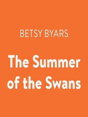 cover image of The Summer of the Swans