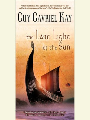 cover image of The Last Light of the Sun