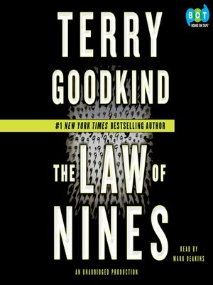 cover image of The Law of Nines