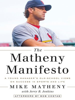 cover image of The Matheny Manifesto