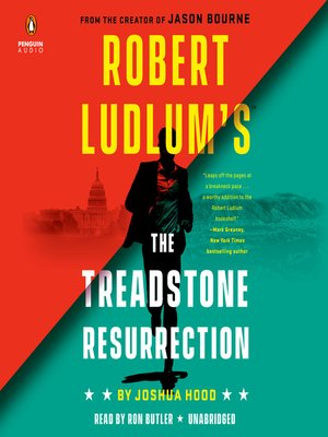 Robert Ludlum's The Treadstone Resurrection Book Cover