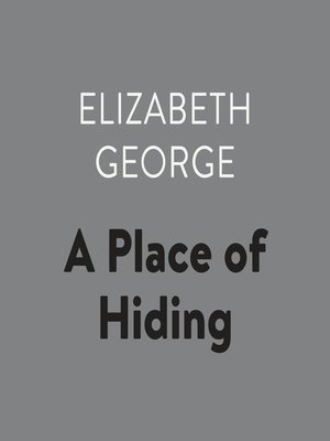 cover image of A Place of Hiding