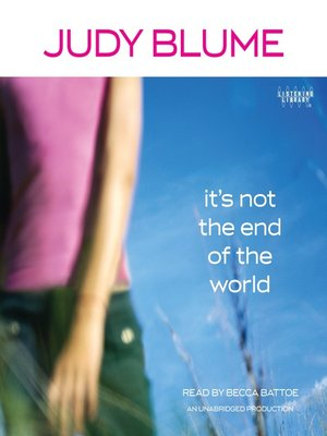 cover image of It's Not the End of the World