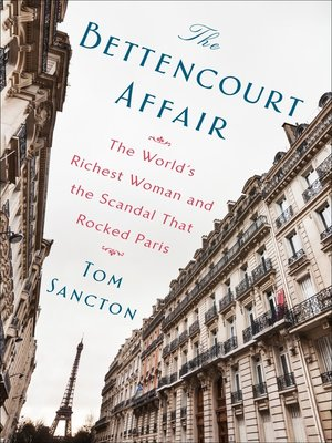 cover image of The Bettencourt Affair