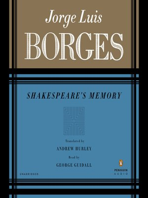 cover image of Shakespeare's Memory