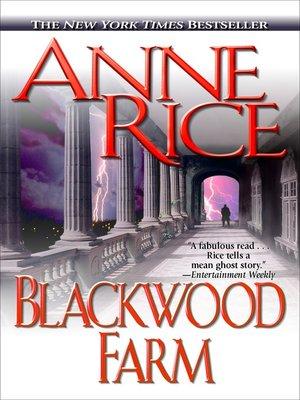 cover image of Blackwood Farm