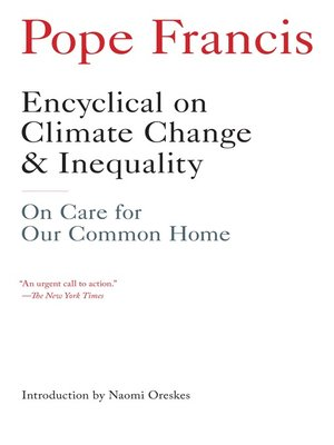 cover image of Encyclical on Climate Change and Inequality