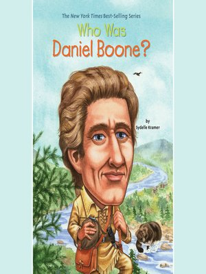 cover image of Who Was Daniel Boone?