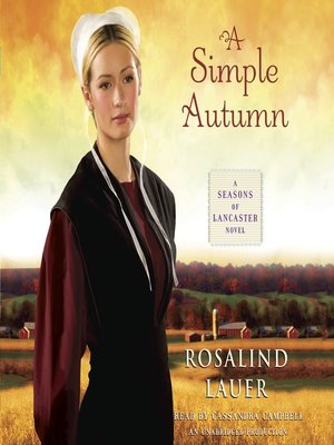 cover image of A Simple Autumn