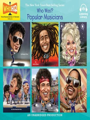 cover image of Who Was: Popular Musicians