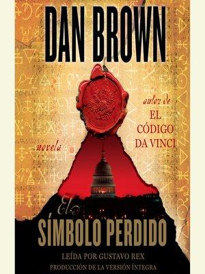 cover image of El Símbolo Perdido
