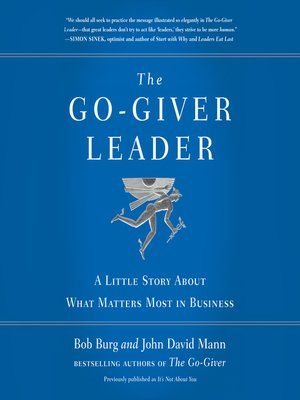 cover image of The Go-Giver Leader