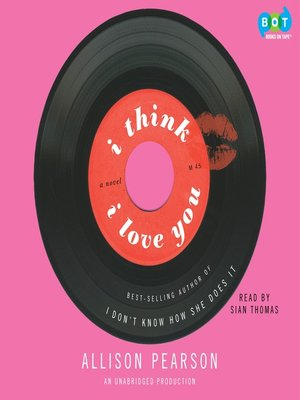 cover image of I Think I Love You