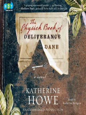 cover image of The Physick Book of Deliverance Dane