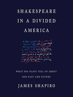 cover image of Shakespeare in a Divided America