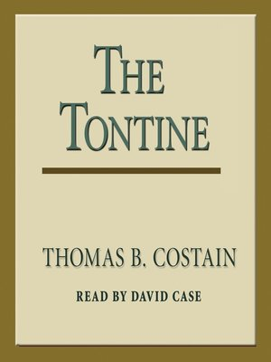 cover image of The Tontine