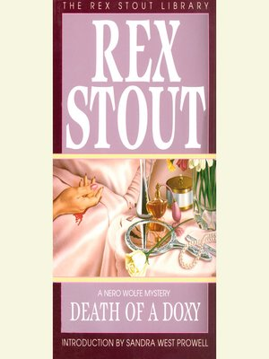cover image of Death of a Doxy
