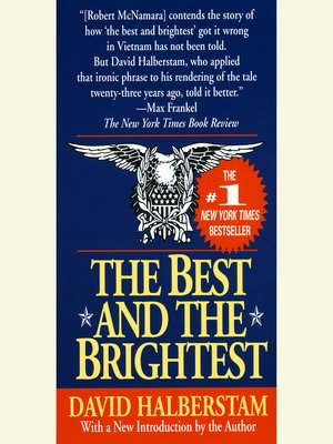 cover image of The Best and the Brightest