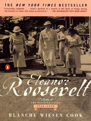 cover image of Eleanor Roosevelt, Volume 2