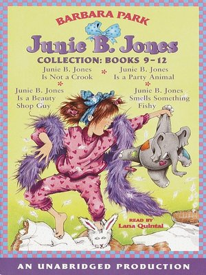 cover image of Junie B. Jones Collection, Books 9-12