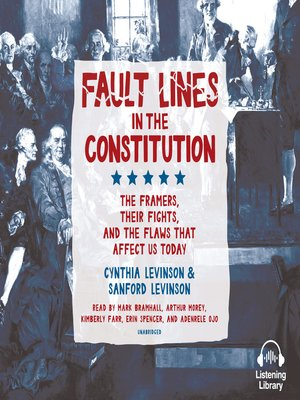 cover image of Fault Lines in the Constitution