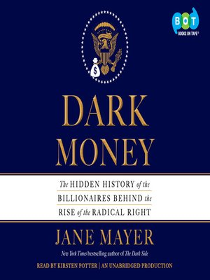 cover image of Dark Money