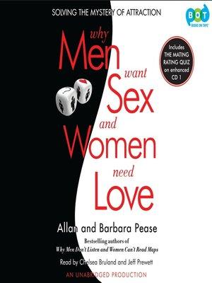 why men love sex