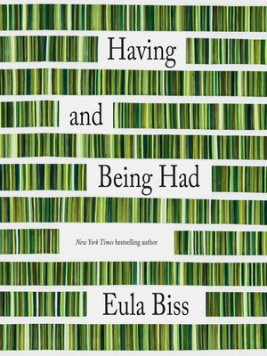 cover image of Having and Being Had