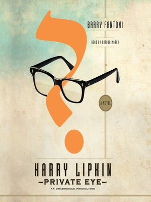 cover image of Harry Lipkin, Private Eye