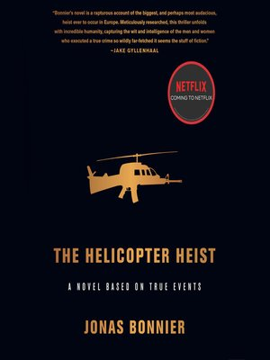 cover image of The Helicopter Heist