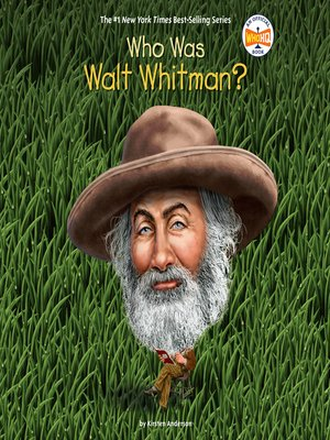 cover image of Who Was Walt Whitman?