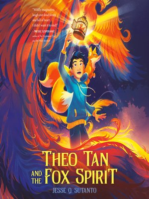 cover image of Theo Tan and the Fox Spirit