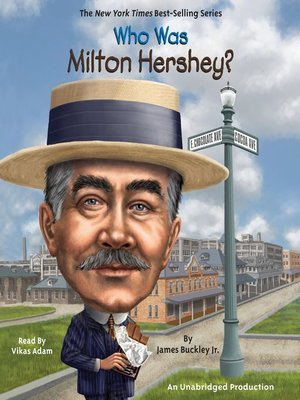 cover image of Who Was Milton Hershey?