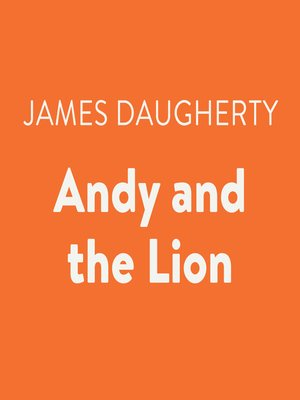 cover image of Andy and the Lion