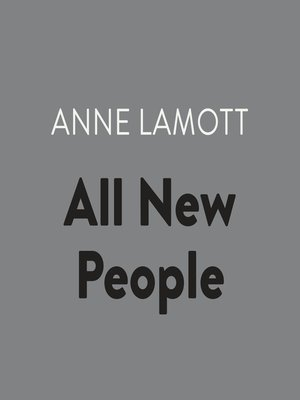 cover image of All New People