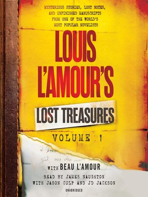 cover image of Louis L'Amour's Lost Treasures