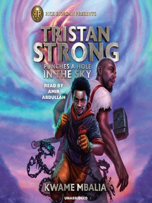 cover image of Tristan Strong Punches a Hole In the Sky