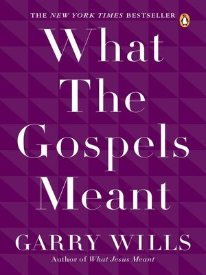 cover image of What the Gospels Meant