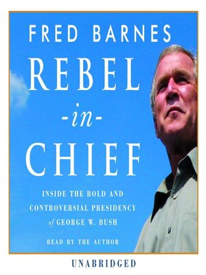 cover image of Rebel in Chief